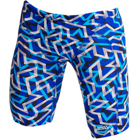Funky Trunks Training Bañador Jammer Niños, ticker tape